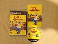 Los Simpson El Videojuego Play Station 2 PS2 PAL ESPAÑOL