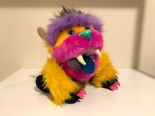 "Vintage 1987 My Pet Monster Puppet ""Yiplet"" AmToy Plush 80's Toy RARE COLOR"