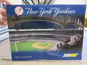 NEW YORK YANKEES 2011 CALENDAR