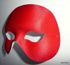 HALLOWEEN MASQUERADE FANCY DRESS STAG & HEN PARTY MENS RED EYE PHANTOM MASK