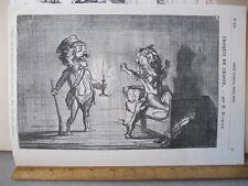 Vintage Print,CROQUIS DE CHASSE,Petit Journal Pour Rire,Daumier,No.662