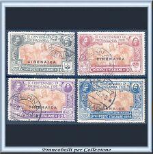 1923 Colonie Italiane Cirenaica Propaganda FIDE n. 1/4 Usati