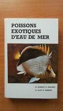 POISSONS EXOTIQUES D'EAU DE MER