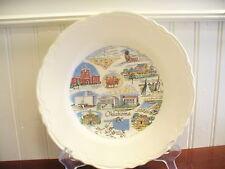 SOONER STATE! Vintage Porcelain Oklahoma State Plate