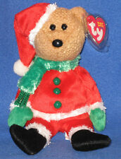 TY KRINGLE the SANTA BEAR BEANIE BABY - MINT with MINT TAGS