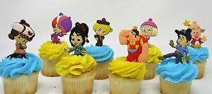 Wreck It Ralph Birthday Cupcake Cake Party Favor 8 Piece Set  Vanellope   *NEW*