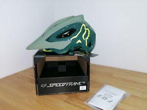 Fox speedframe pro helmet Large mtb mountain biking bike