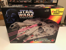 Star Wars Electronic Millennium Falcon, POTF2 Hasbro, New in unopened box