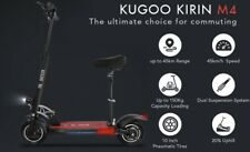 500W BRAND NEW KUGOO Kirin M4 Electric Scooter, Removable Seat. UK Seller 🇬🇧