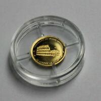 """""""Die kleinsten Goldmünzen"""" - Niger -  Gold 100 Francs  2014 - Kolosseum Rom"""