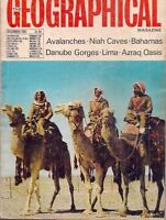 the geographical magazine-DEC 1967-AZRAQ OASIS.