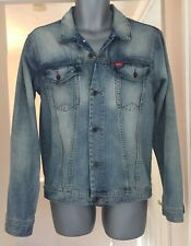 """LEE COOPER Light Blue Button Up Denim Jean Jacket Size SMALL 40""""in"""