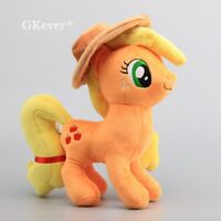 Applejack Cuddly Horse Stuffed Plush Toy Doll 12'' Baby Toys Kids Birthday Gift