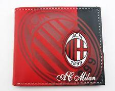 For AC MILAN wallet soccer mens ID Card Holder Billfold bifold Purse 2016 YKJAC8