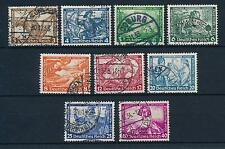 [30376] Germany Deutsche Reich 1933 Wagner complete VF set Used