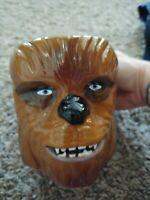 NEW Star Wars Chewbacca Ceramic Sculpted 11oz Coffee Mug Hand Painted Zak Design