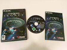 STAR TREK JEU HÉRITÉ DANS ANGLAIS POUR PC CD-ROM MANUEL EN ESPAGNOL BETHESDA