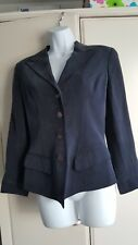 AUSTIN REED ladies Grey 100% silk jacket. Smart. Work. Size 6 /30.
