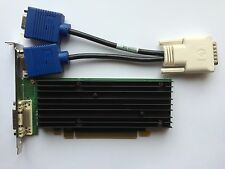 HP 454319-001 456137-001 NVIDIA NVS 290 P538 256MB PCIE WINDOWS 8 & VGA SPLITTER