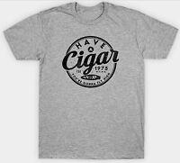 PINK FLOYD T SHIRT HAVE A CIGAR 1975 VINTAGE RETRO MUSIC BIRTHDAY PRESENT FAN