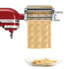 Stainless Steel Ravioli Maker Attachment pie pasta roller for kitchen aid Mixer