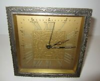 Antique Picture Frame Wind up Desk Alarm Clock 30-Hour