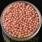 New 100pcs 4mm Round Glass Pearl Loose Spacer Beads Jewelry Making Aqua Red