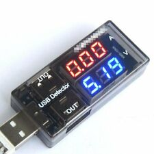USB Charger Current Meter CellPhone Battery Tester Doctor Voltage Power Detector