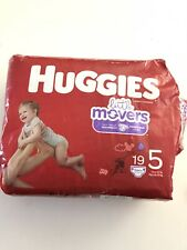 New W Defect Huggies Diapers Little Movers Disney Mickey Size 5