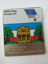 BMW CLUBTREFFEN RIJEKA OPATIJA (JUGOSLAWIEN) CLUB MEETING BADGE PLAKETTE PLAQUE
