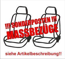 Massgefertigte Schonbezüge Sitzbezüge vorne hellgrau VW Golf 5 V 5trg 10/03-9/08
