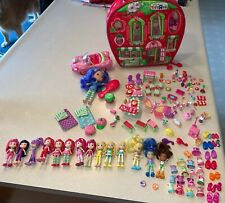 Huge Lot 3� Small Strawberry Shortcake Dolls Clothes Car Accessories Food Pets