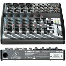 BEHRINGER XENYX 1202 mixer passivo a 12 ingressi per karaoke studio live NUOVO