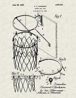 Antique Vintage Football Goalie 511 Official Soccer Goal US Patent Art Print