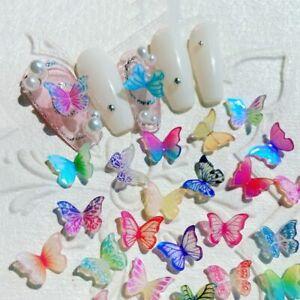 Nail Art Accessories Manicure 3D Nail Art Decoration Butterfly Nail Art Jewelry