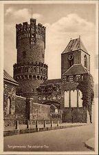 Tangermünde a. Elbe Sachsen-Anhalt ~1920/30 Neustädter Tor Turm Burg ungelaufen