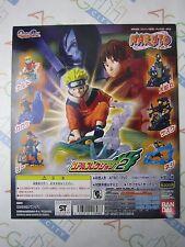 Naruto Real Collection Part 2 Gashapon Toy Machine Paper Card Bandai Japan