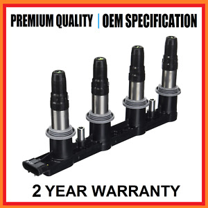 Ignition Coil Pack Holden Cruze SRi Opel Astra GTC 1.6L Turbo ref IGC402