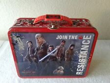 STAR WARS Join the Resistance Metal Small Lunch/Snack Box - Tin Box Co.NWT