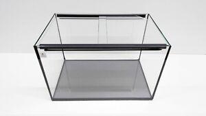 NACD AQUARIUMS 25L Aquarium Fish Tank 40 x 25 x 25cm + sliding glass cover