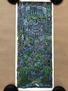 David Welker Phish Bakers Dozen Art Print Gig Poster Trey Anastasio New York
