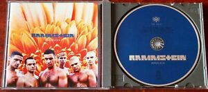 RAMMSTEIN HERZELEID CD ALBUM MOTOR MUSIC (1995) GERMANY METAL