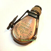 Antique Brass Spyglass Monocular Maritime Collectible