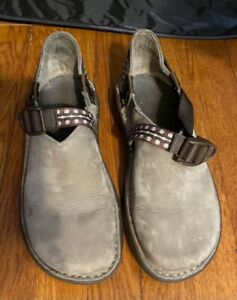 Chaco Women's PedShed Clogs Brown Comfort Clog Hiking Vibram Size 8