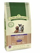 Wellbeloved Turkey and Rice Senior Small Breed 7.5kg - 29074