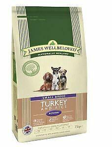 Wellbeloved Turkey and Rice Senior Small Breed 7.5kg - 29074