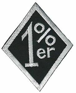 Patch Badge No Club Patch 1 Er % Fusible Hotfix Embroidered