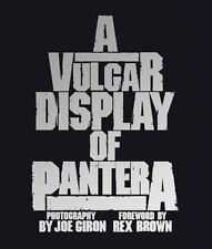 A Vulgar Display of Pantera (Hardcover) by Joe Giron
