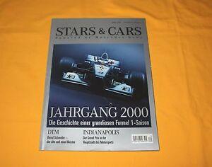 Mercedes-Benz Stars & Cars Winter 2000 Nr. 18 Heft Magazin Formel 1 DTM AMG