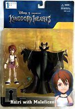 KAIRI W- MALEFICENT Kingdom Hearts Mirage Disney Squaresoft New & Factory Sealed